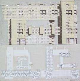 многоквартирный многоэтажный жилой дом